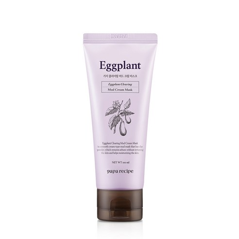 [Papa Recipe] Eggplant Clearing Mud Cream Mask 100ml (Weight : 170g)