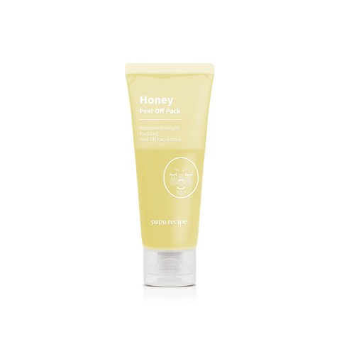 [Papa Recipe] BomBee Honeyed Pudding Peel Off Facial Mask 50ml (Weight : 90g)