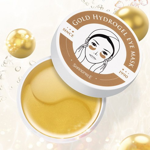 [Shangpree] Gold Hydrogel Eye Mask 60ea (Weight : 120g)