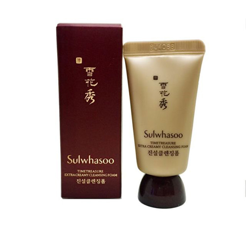 [Sulwhasoo] Timetreasure Extra Creamy Cleansing Foam (Sample) 15ml