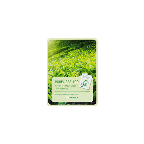 [Tonymoly] Pureness 100 Mask Sheet #Green Tea 21ml