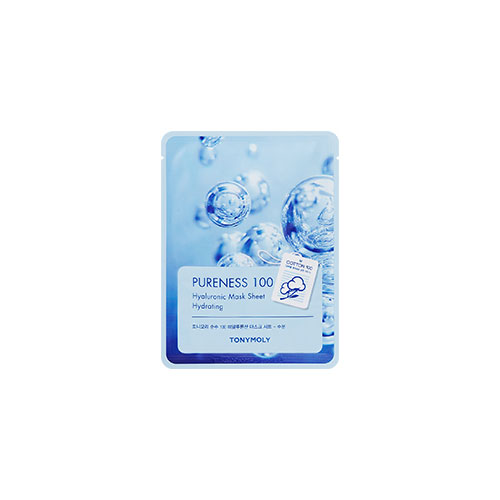 [Tonymoly] Pureness 100 Mask Sheet #Hyaluronic Acid 21ml