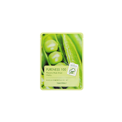 [Tonymoly] Pureness 100 Mask Sheet #Placenta 21ml