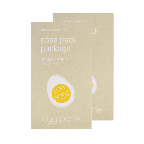 [Tonymoly] Egg Pore Nose Pack 7pcs*2 (Weight : 40g)