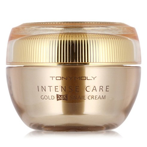 [Tonymoly] Intense Care Gold 24K Snail Cream 45ml (Weight : 90g)