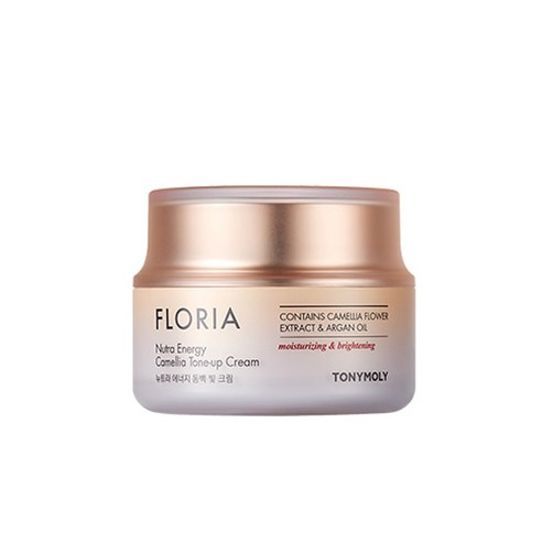 [Tonymoly] Floria Nutra Energy Camellia Tone-up Cream 50ml (Weight : 110g)